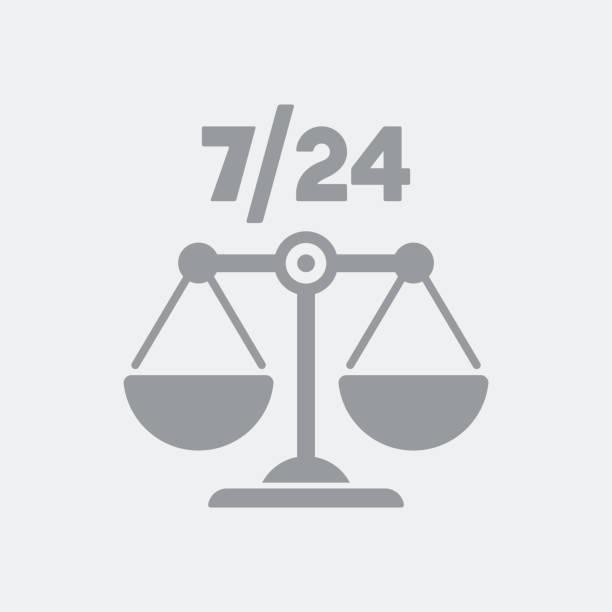 ilustrações, clipart, desenhos animados e ícones de serviços jurídicos em tempo integral - assistente jurídico