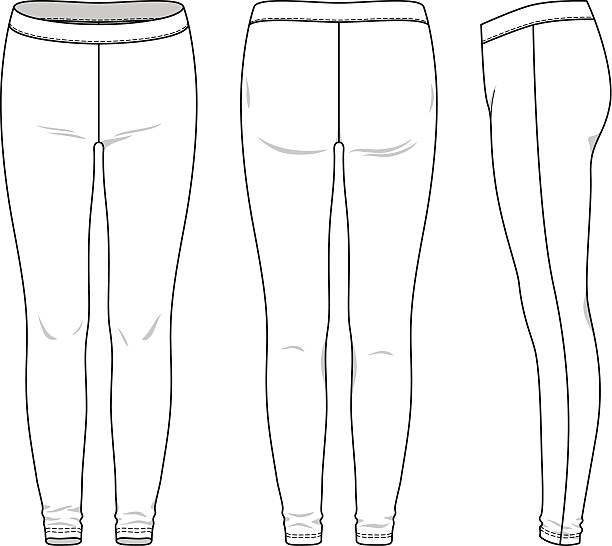 Best Leggings Illustrations, Royalty-Free Vector Graphics