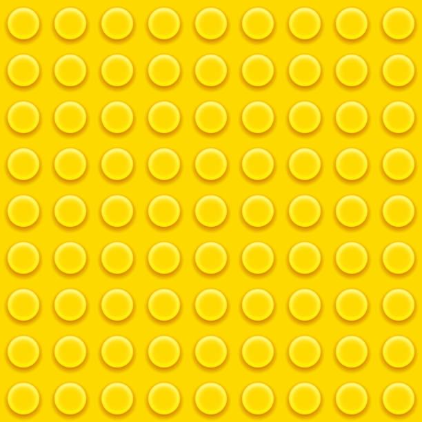 stockillustraties, clipart, cartoons en iconen met lego blocks pattern - lego