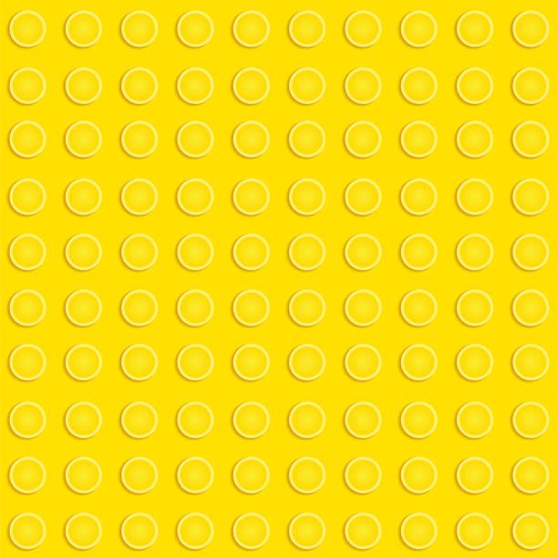 stockillustraties, clipart, cartoons en iconen met lego blokken patroon - lego