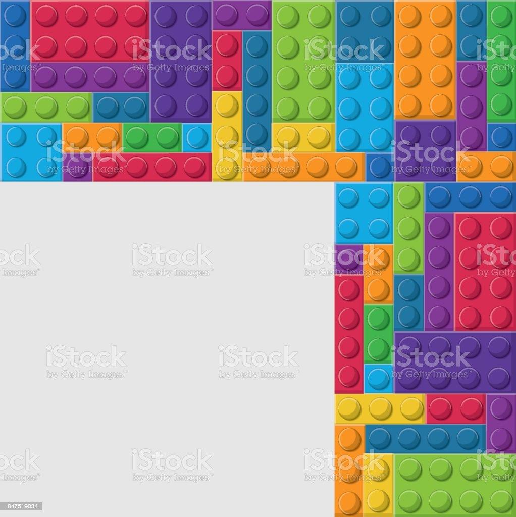 レゴのアイコン抽象的な図ベクター グラフィック アイデアのベクター