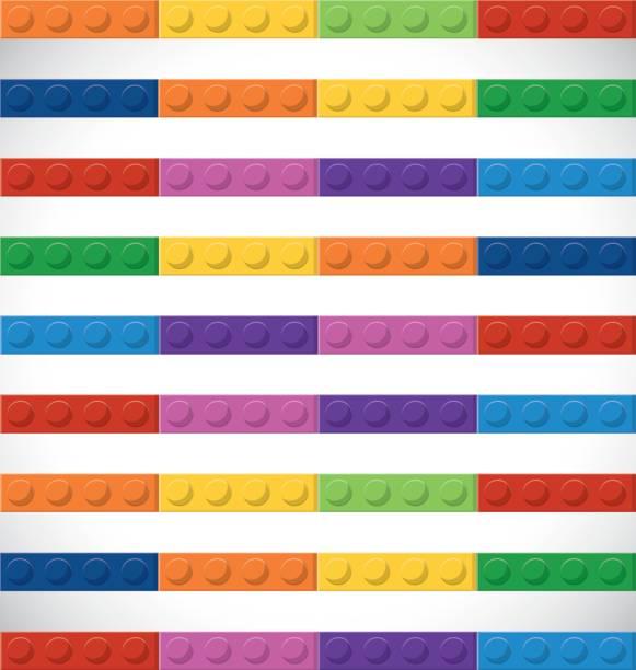stockillustraties, clipart, cartoons en iconen met lego pictogram. sriped figuur. vectorafbeelding - lego