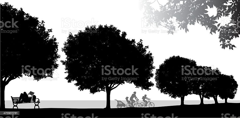 Leisure royalty-free stock vector art