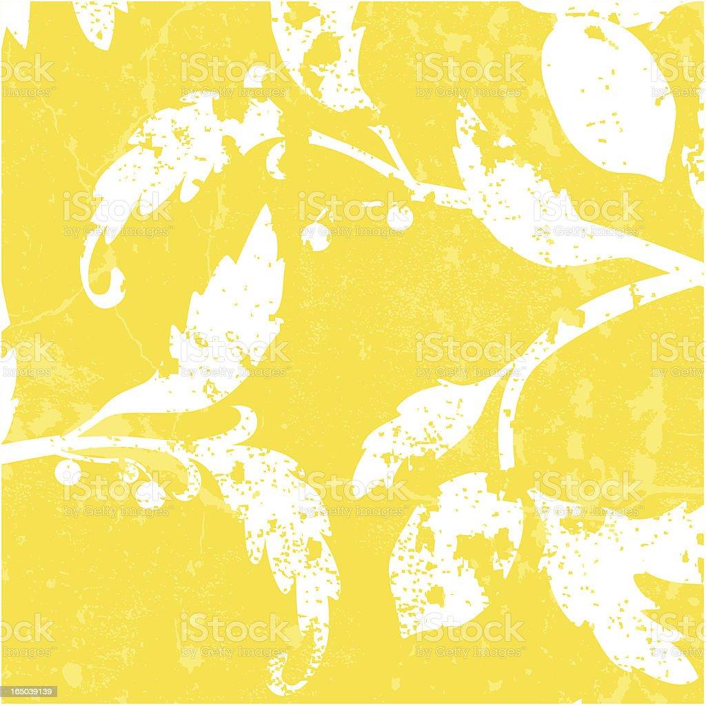 Lemon Grunge Vector royalty-free stock vector art