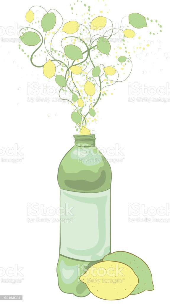 Lemon Lime Drink royalty-free lemon lime drink stock vector art & more images of abstract