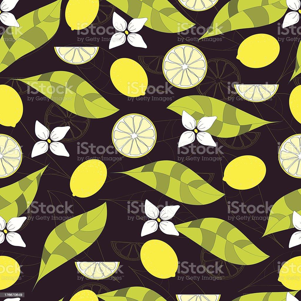 lemon pattern royalty-free lemon pattern stock vector art & more images of art