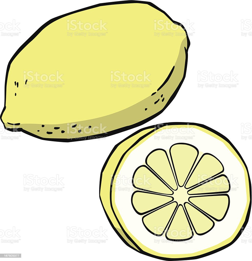 lemon royalty-free lemon stock vector art & more images of cartoon