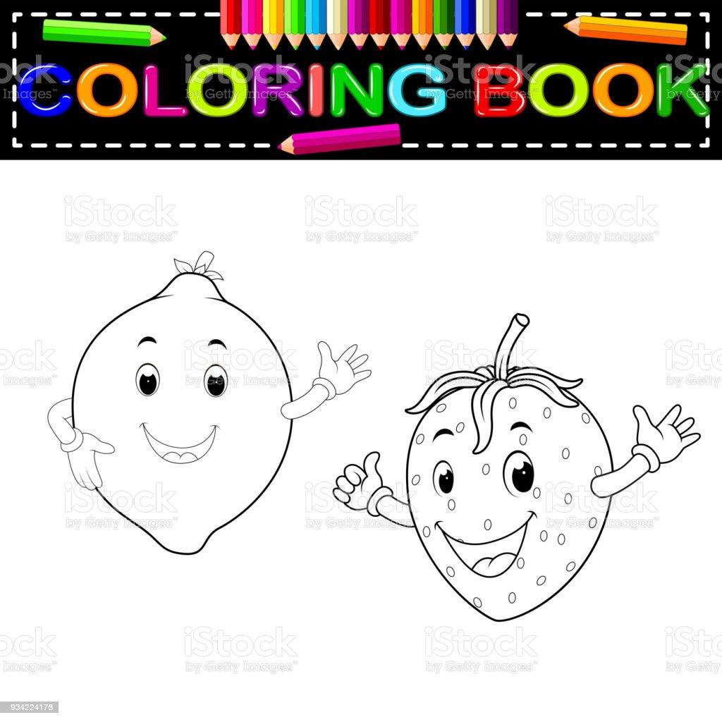 Magnífico Libres De Pastel De Fresa Para Colorear Foto - Ideas Para ...
