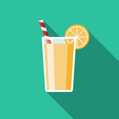 Lemonade Flat Design Travel & Vacation Icon