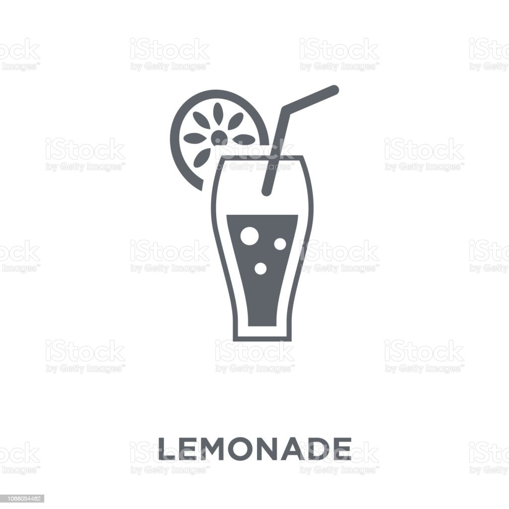 Lemonade icon from Drinks collection. vector art illustration