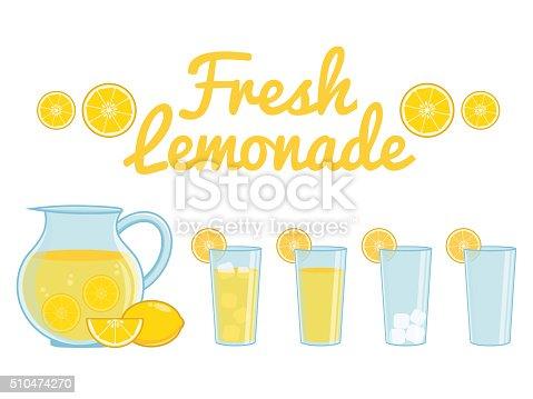 istock Lemonade isolated 510474270