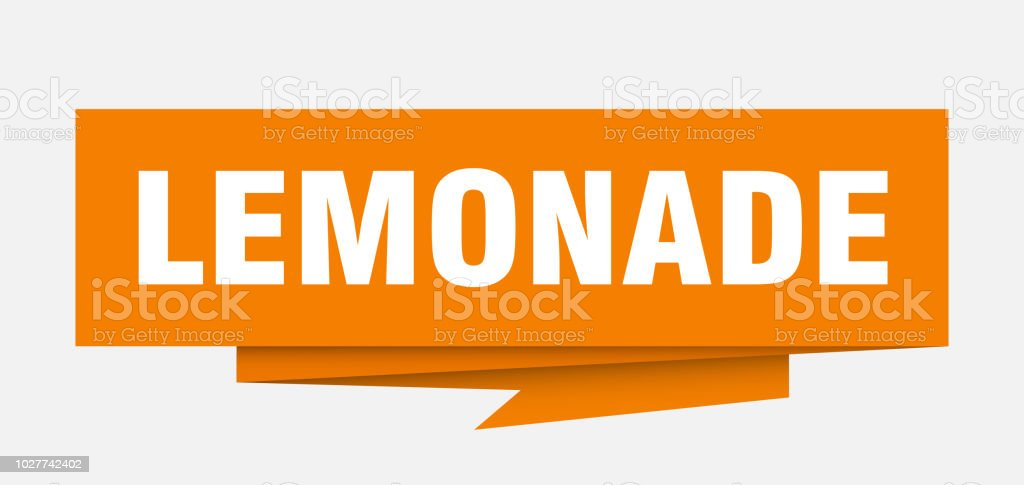lemonade sign stock vector art more images of badge 1027742402