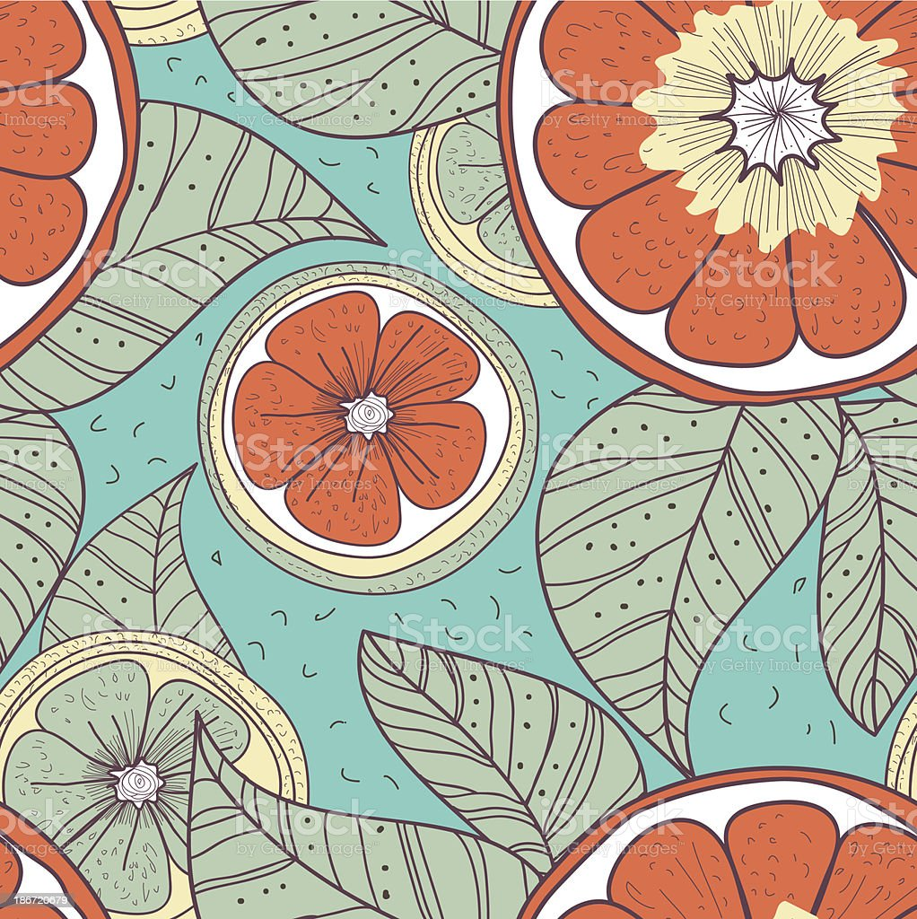 Lemons royalty-free stock vector art