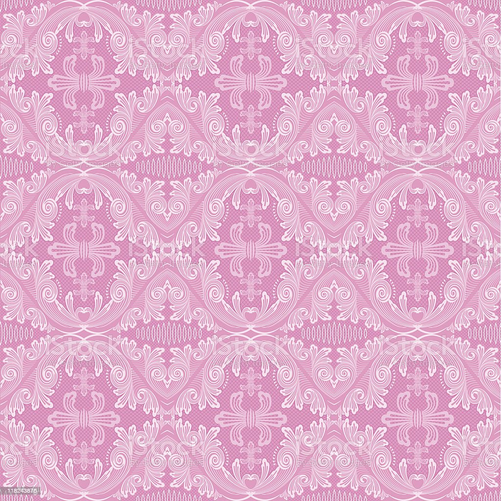 Leniece Lattice (Seamless) royalty-free stock vector art