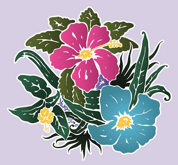 Lenore Floralé vector art illustration