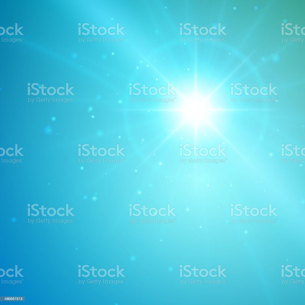Lens flare light abstract royalty-free stock vector art