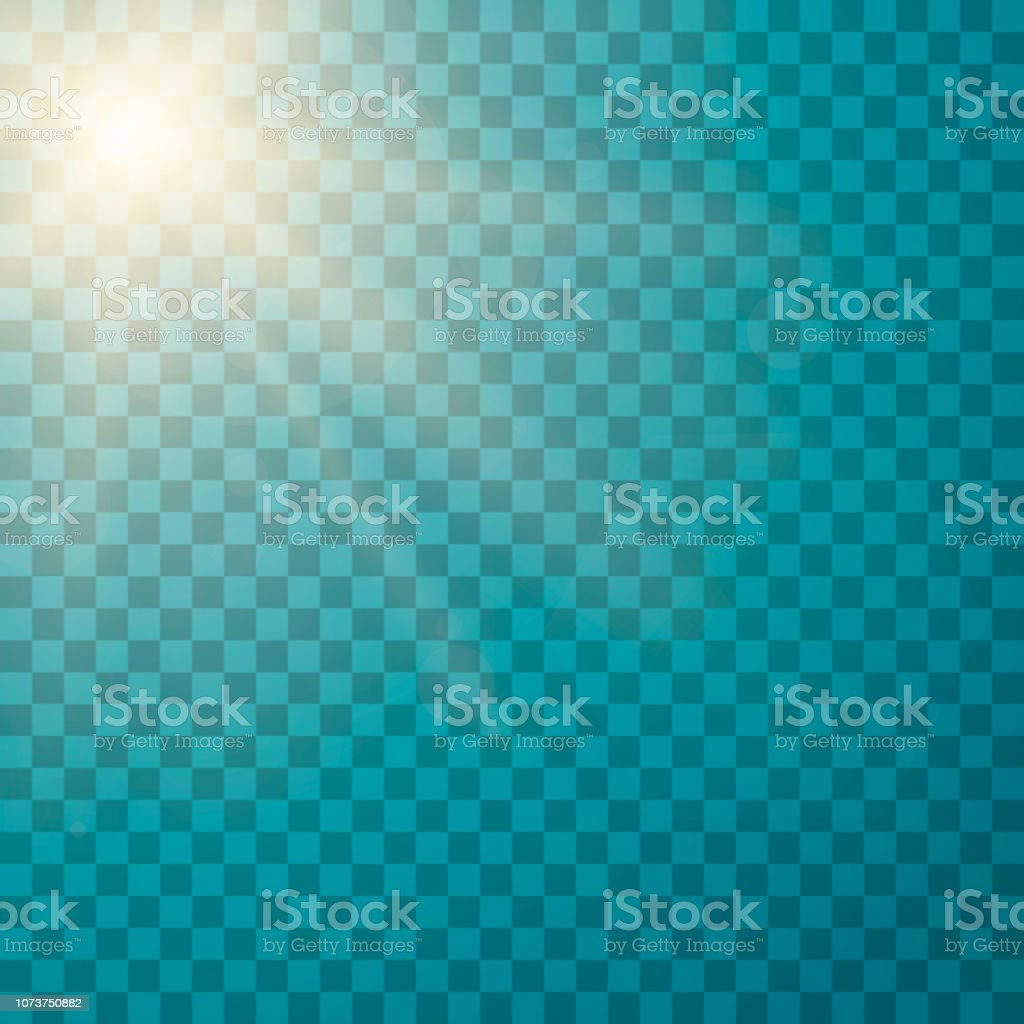 Lens flare light effect. Sunlight a translucent special design of the...