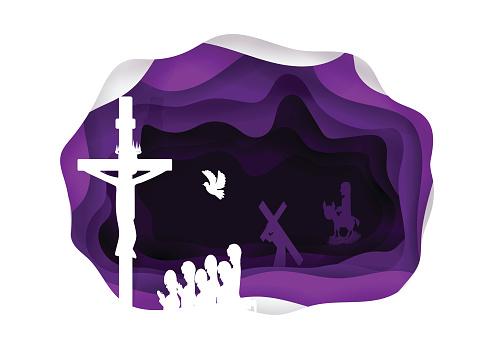 Lent stock illustrations