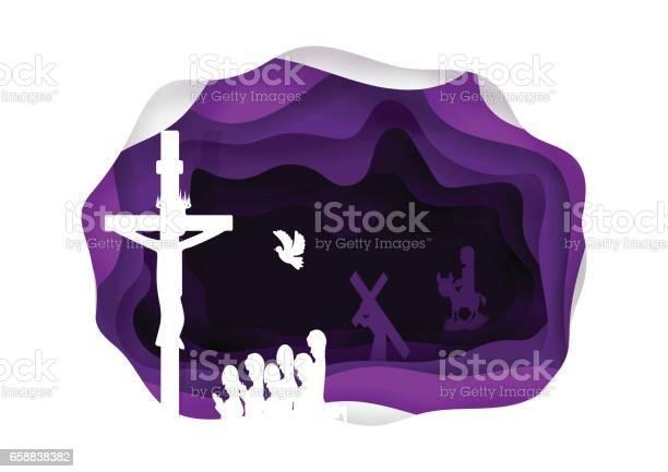 Lent Stock Illustration - Download Image Now