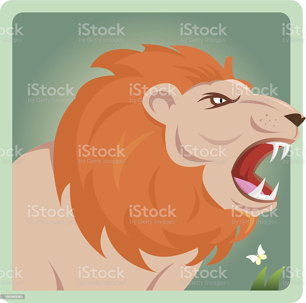 Leo royalty-free stock vector art