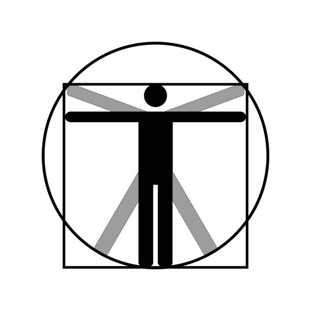 Best Vitruvian Man Illustrations, Royalty-Free Vector ... Da Vinci Symbols
