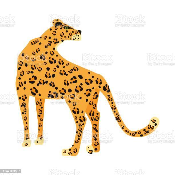 Leopard cute trend style animal predator mammal jungle vector on vector id1147703567?b=1&k=6&m=1147703567&s=612x612&h=3ia pqz6ty02sgfxvts6 gv0ww2ctfffvjzzoqwoyu0=