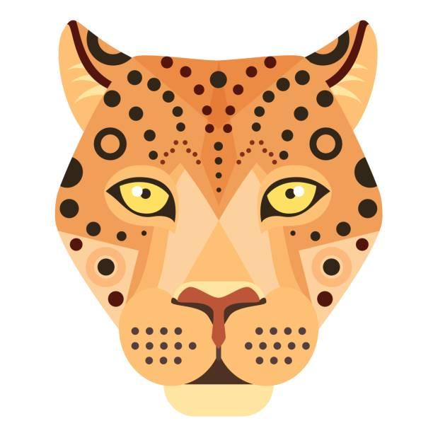 Jaguar Face Clip Art: Royalty Free Jaguar Clip Art, Vector Images
