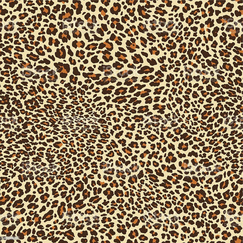 Leopardenmuster Muster – Vektorgrafik