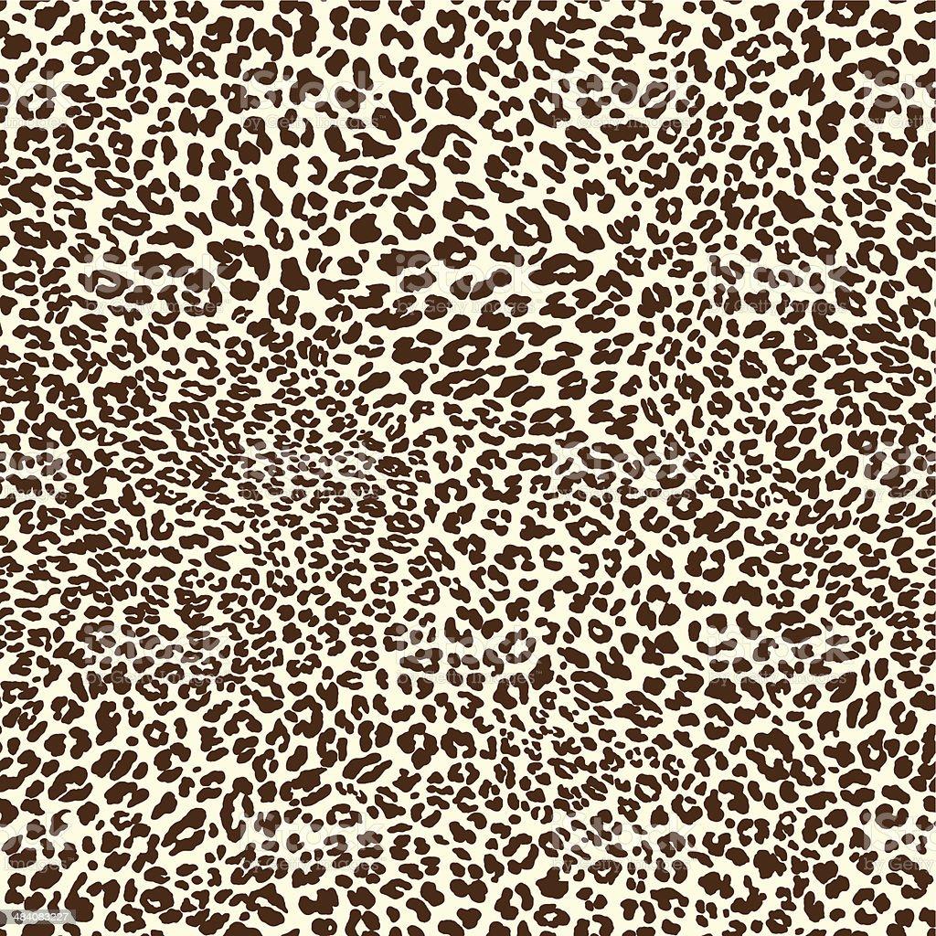 Leopardo patrón - ilustración de arte vectorial