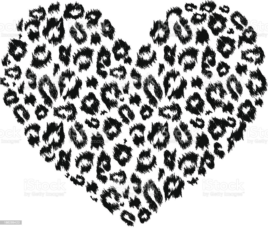 Download Leopard Print Heart Stock Illustration - Download Image ...