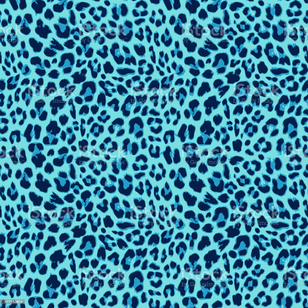 Leopard seamless pattern design, vector background vector art illustration