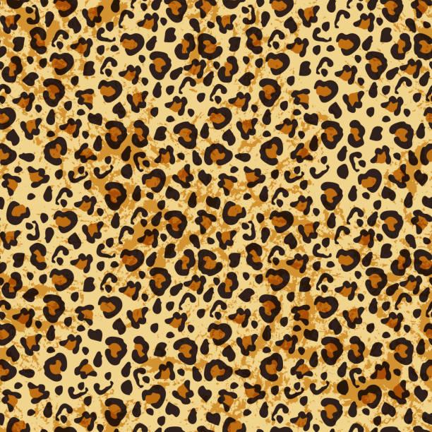 レオパードのシームレスなパターン。 - ヒョウのテクスチャ点のイラスト素材/クリップアート素材/マンガ素材/アイコン素材