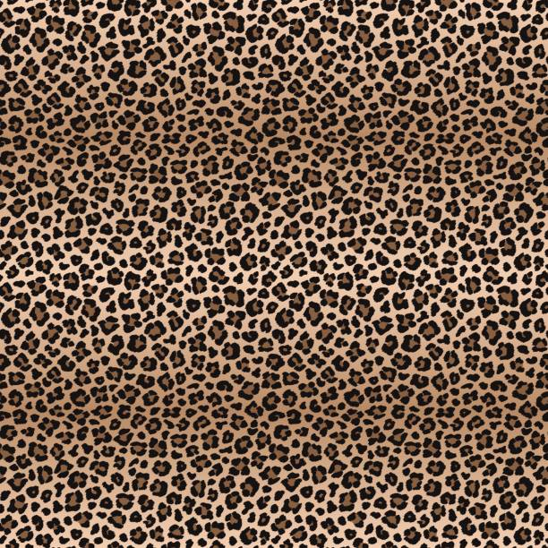 c41a109f4b Leopard seamless pattern with color transitions vector art illustration