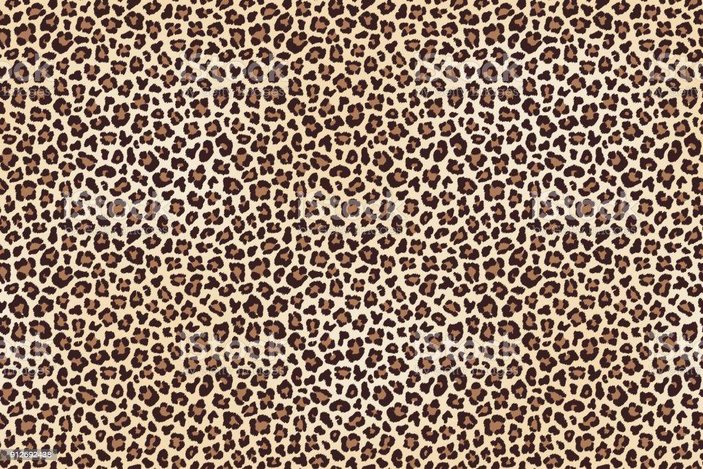 Leopard spotted Fell Textur – Vektorgrafik