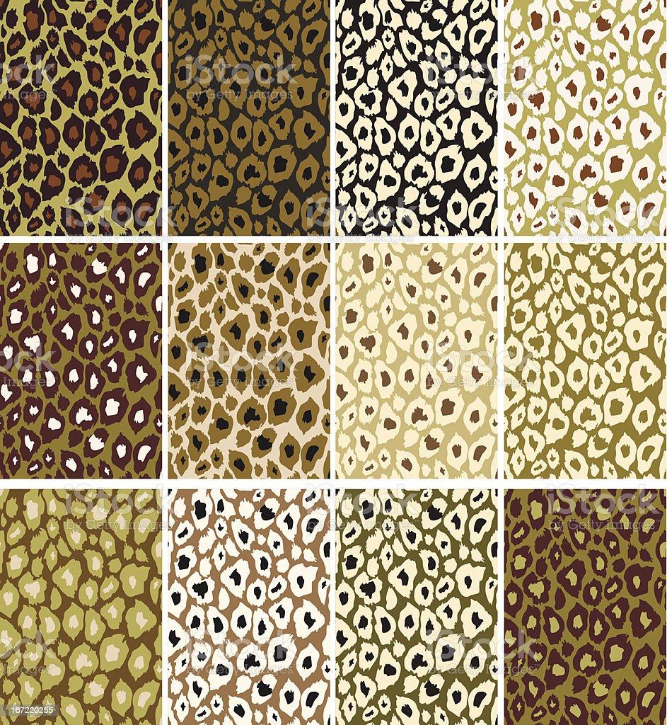 Leopard texture royalty-free stock vector art
