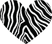 Leopardprint heart