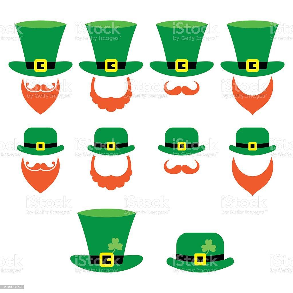 Leprechaun character for St Patrick's Day in Ireland vector art illustration