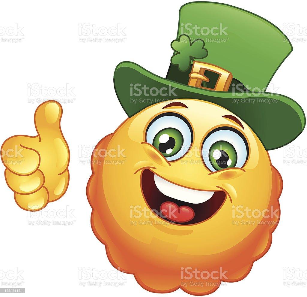 Leprechaun emoticon royalty-free leprechaun emoticon stock vector art & more images of adult