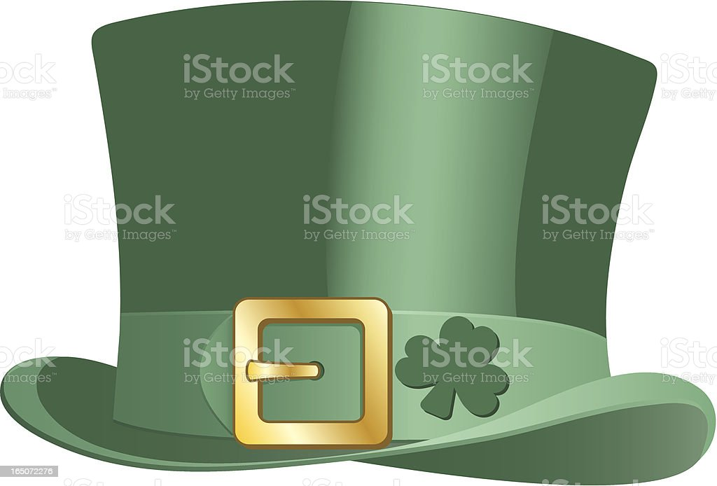 Leprechaun Hat royalty-free stock vector art