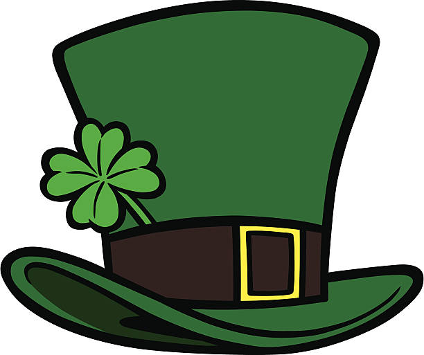 Royalty Free Leprechaun Hat Clip Art, Vector Images ...