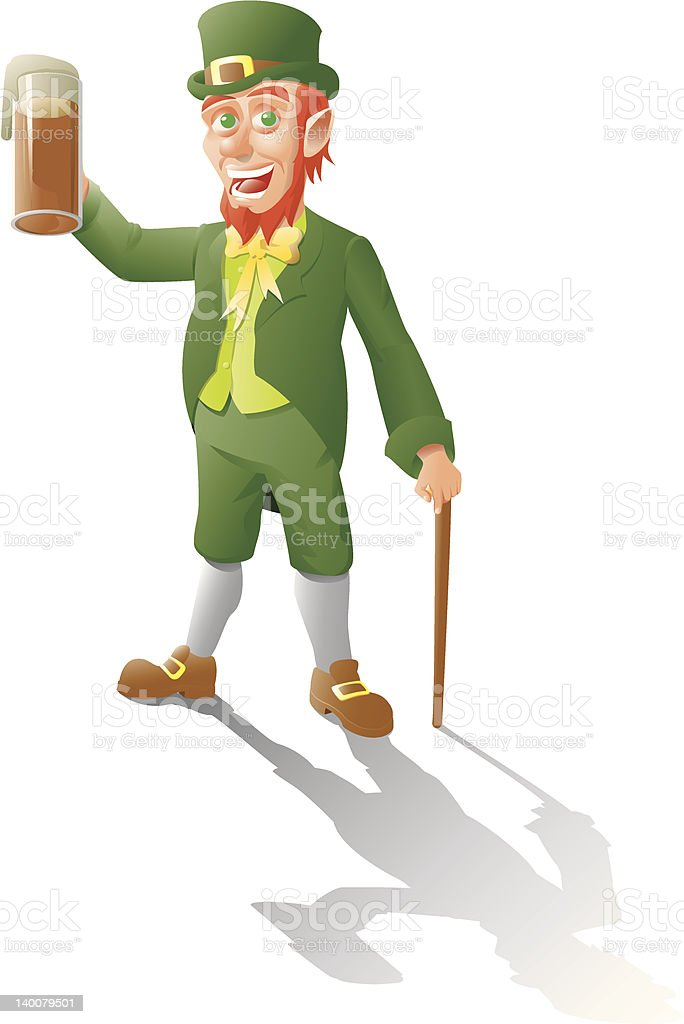 Leprechaun royalty-free stock vector art