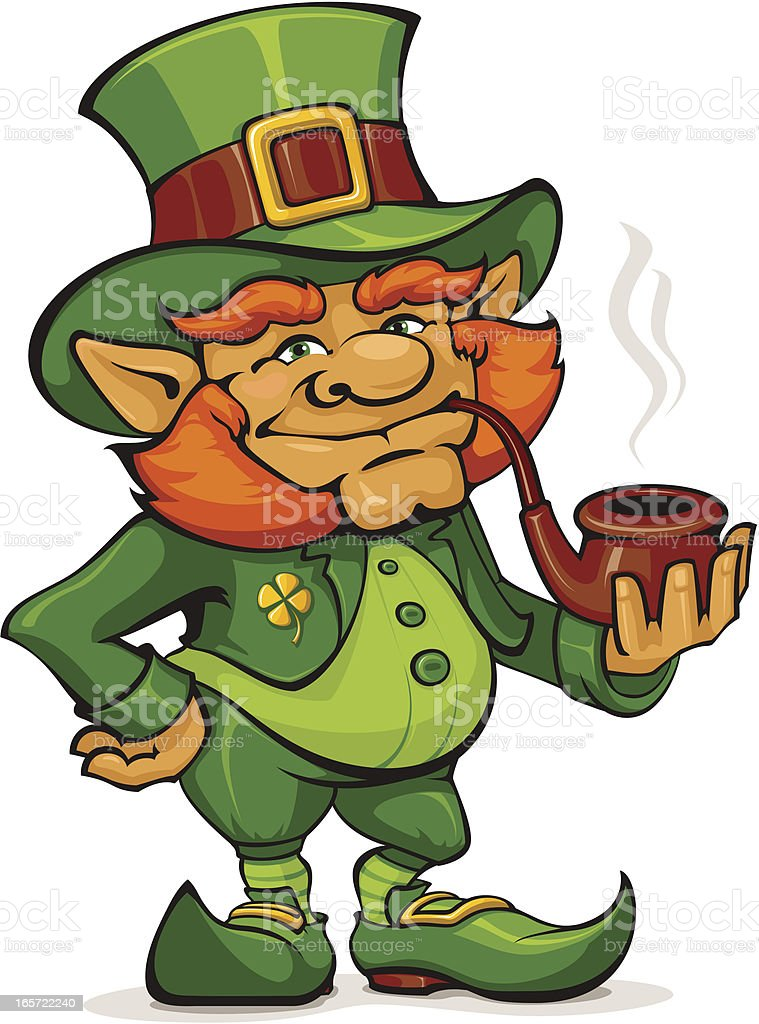 Leprechaun royalty-free leprechaun stock vector art & more images of cartoon