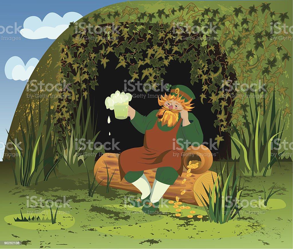 Leprechaun royalty-free leprechaun stock vector art & more images of adult