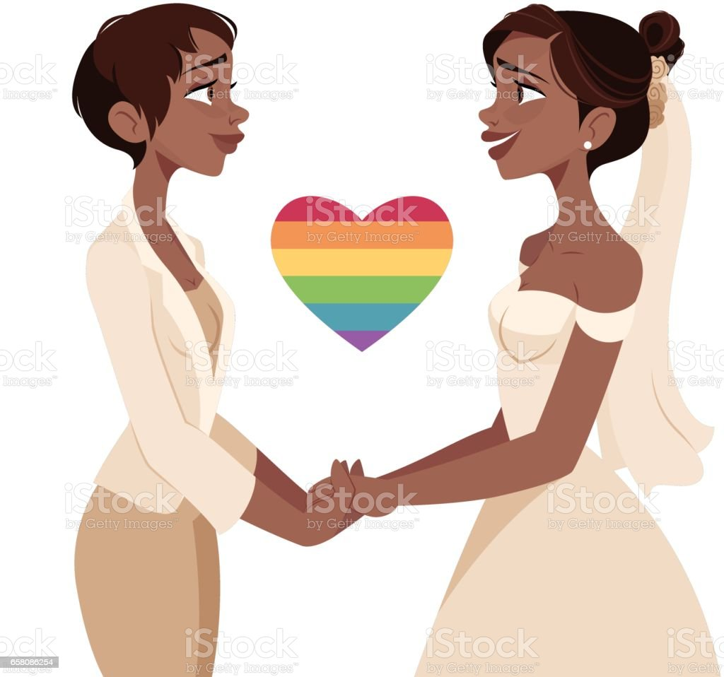 Lesbian Wedding royalty-free lesbian wedding stock vector art & more images of adult