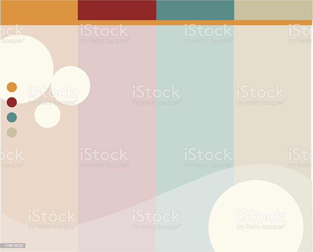 Less is more - background 1 royalty-free stock vector art