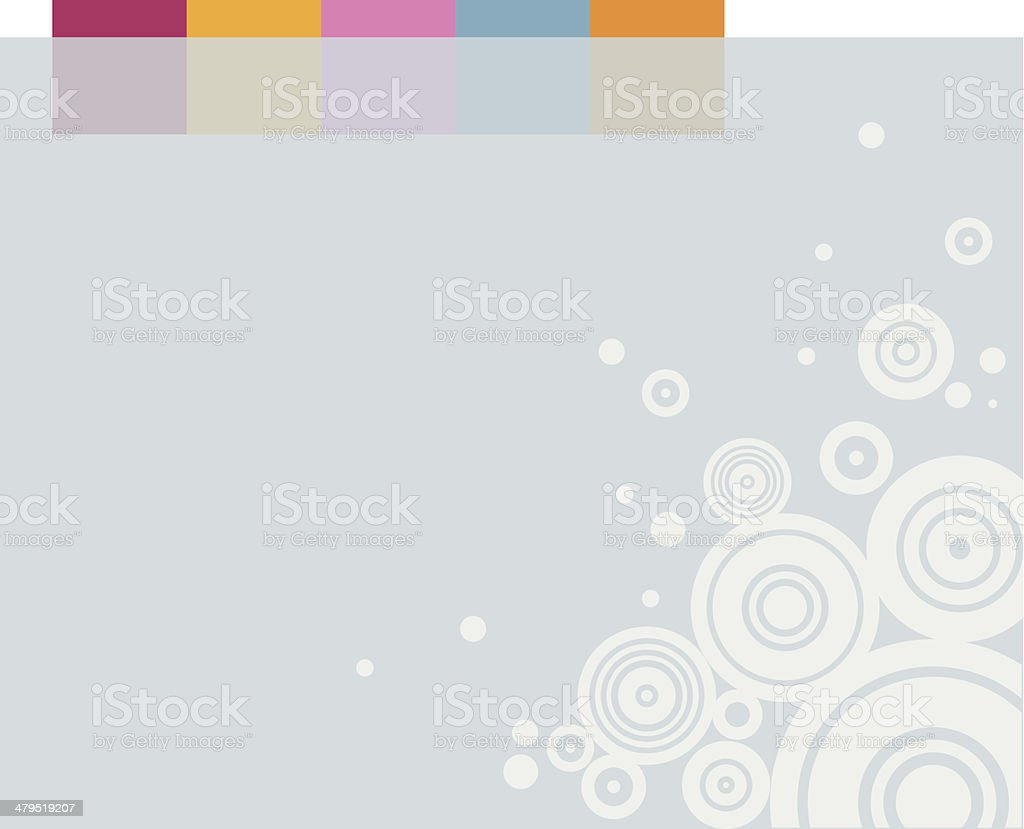 Less is more - Background 2 royalty-free stock vector art