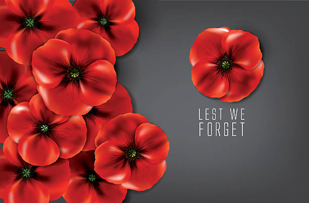 Royalty free poppy flower clip art vector images illustrations lest we forget remembrance day vector art illustration mightylinksfo