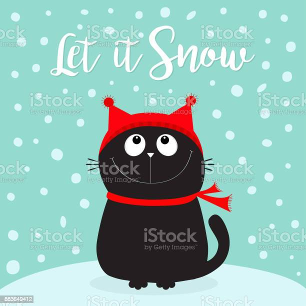 Let it snow black cat kitten head face looking up kitty sitting on vector id883649412?b=1&k=6&m=883649412&s=612x612&h=tcxg ntwtgri2qvegfvslchgbclvfyqvbgywk9cmkze=