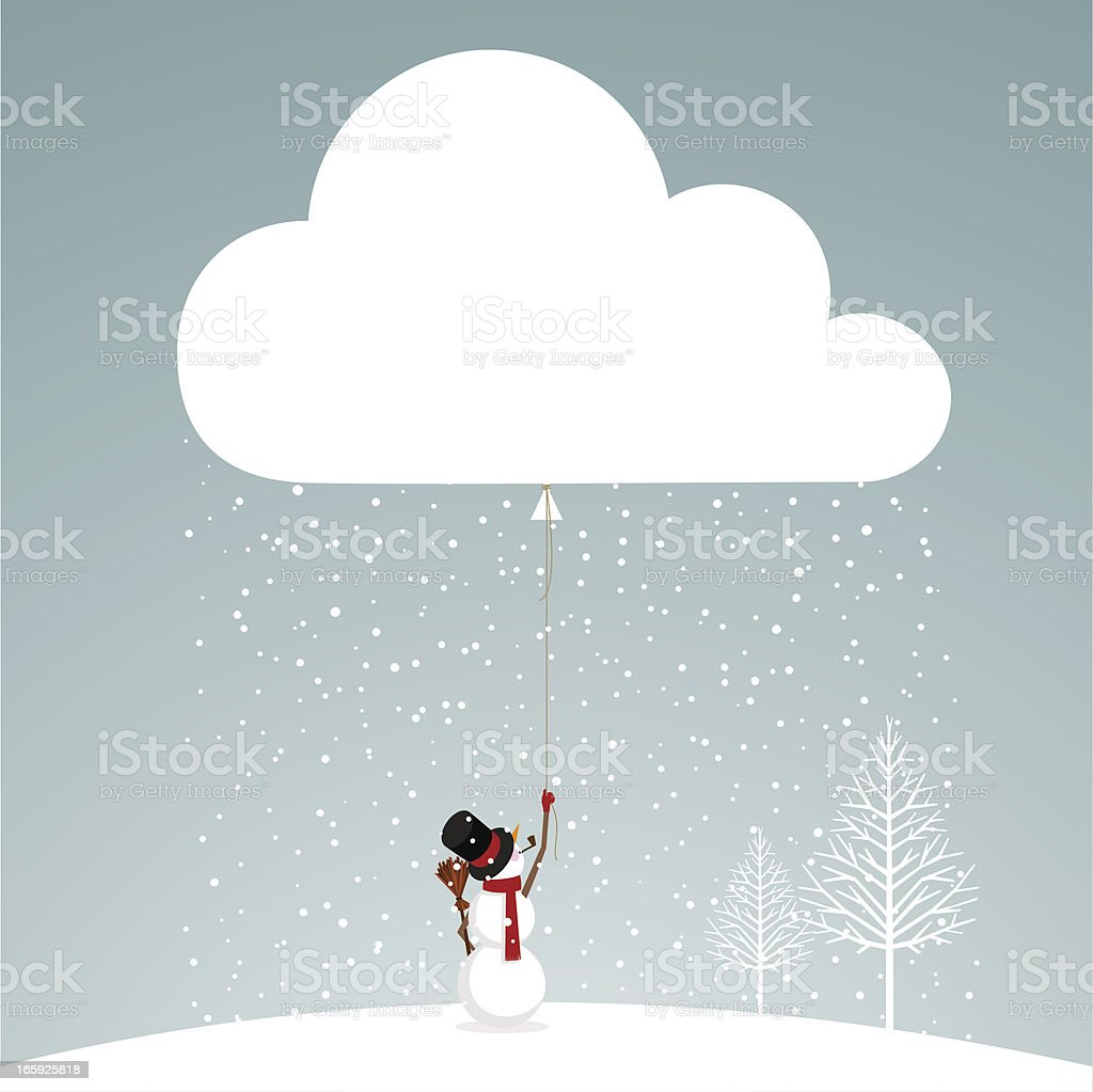 let it snow snowman royalty-free let it snow snowman stock vector art & more images of backgrounds