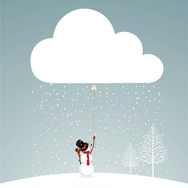 let it snow schneemann - landscape crazy stock-grafiken, -clipart, -cartoons und -symbole